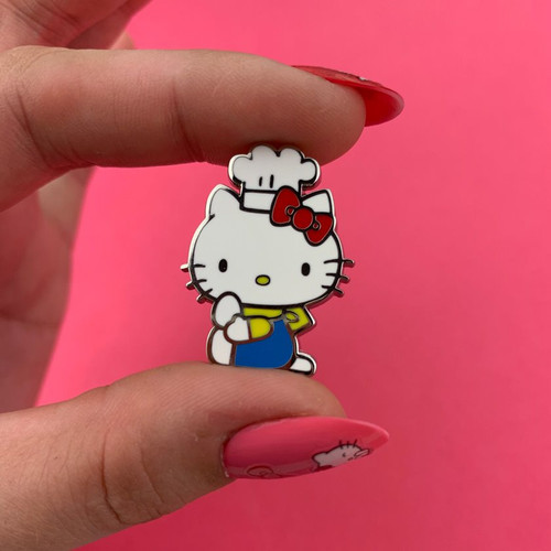 Erstwilder Hello Kitty Chef Enamel Pin