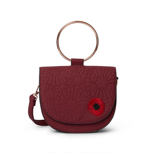 Erstwilder Poppy Field Saddle Bag