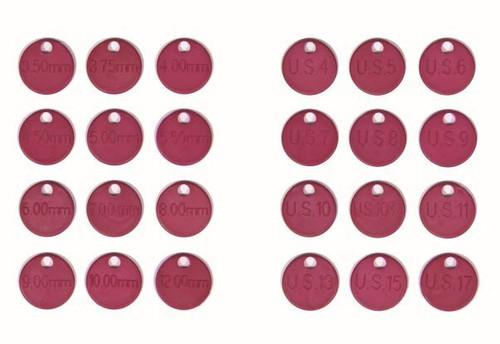 Knit Pro Needle ID Tags (pk 12)