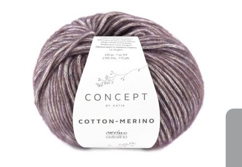 134 Aubergine Cotton Merino