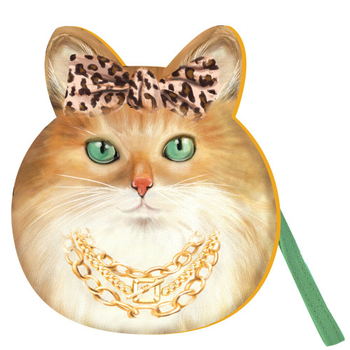 Bougie Pussy Society Cat Purse