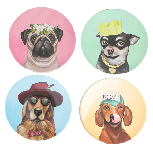 Plate Set Canine Cuties