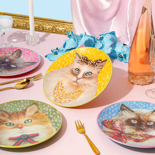 Plate Set Bougie Pussy Society