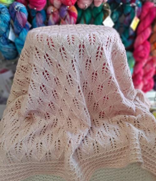 KNIT Harvest Moon Blanket Kit
