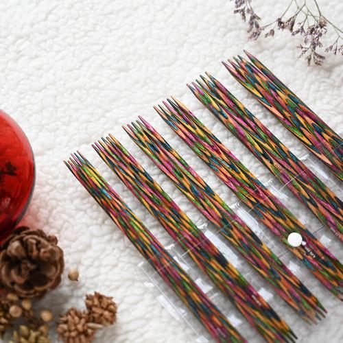 15 cm Symfonie Wood Double Pointed Sock Needle Set
