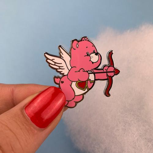 Love-A-Lot™ Cupid Enamel Pin Erstwilder