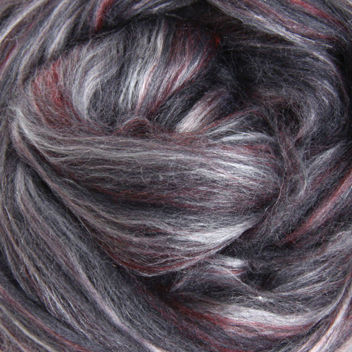 Poppy Seed Silk Merino