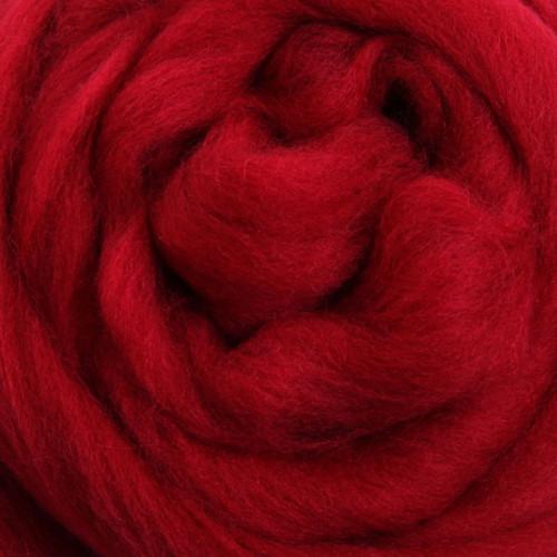Cherry Red Merino 100g