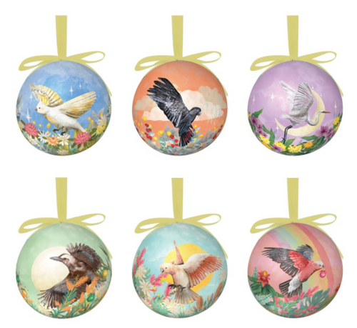 Christmas Bauble Set Mother Nature