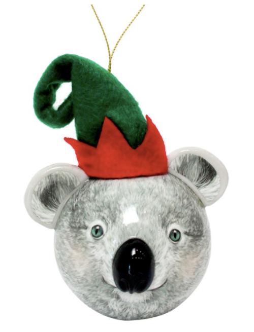 3D Bauble Koala Elf