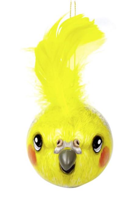 3D MIni Bauble Cockatiel