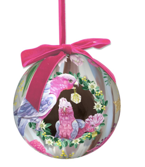 Extravagant Bauble At Home For Christmas Birds