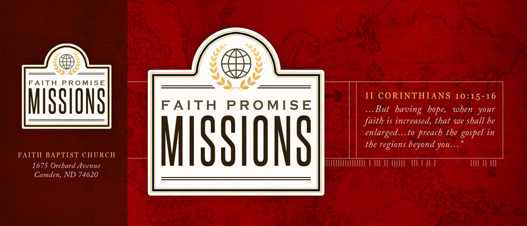 Faith Promise Commitment Card - Perforated (B)