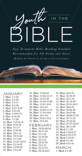 Youth Bible Reading Schedules