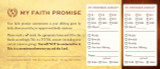 Faith Promise Commitment Card - Perforated (A)
