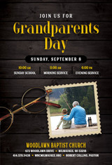 Grandparents Sunday Invitation (A)