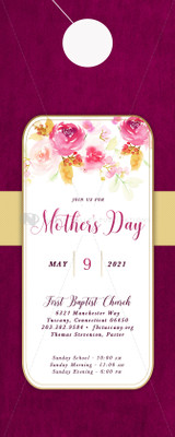 Mother's Day (B) - Door Hanger