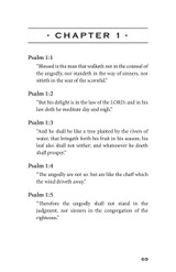 Psalms - Familiar Passages of Prayer and Praise