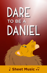 Dare to Be a Daniel - Sheet Music