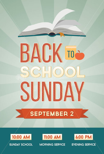 Back to School Sunday (D)