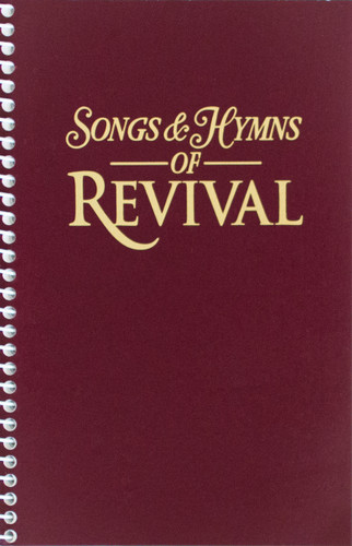 Songs & Hymns of Revival - Burgundy Spiral Hymnal - Scratch & Dent