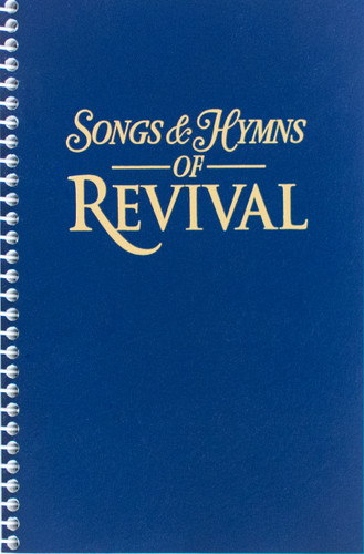 Songs & Hymns of Revival - Navy Spiral Hymnal - Scratch & Dent