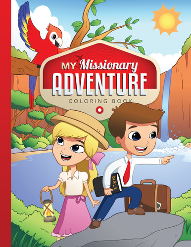 Coloring Book - My Missionary Adventure