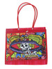 ASA Deluxe Mexican Mercado Shoulder Mesh Bag (DOD La Catrina) (Design 4)