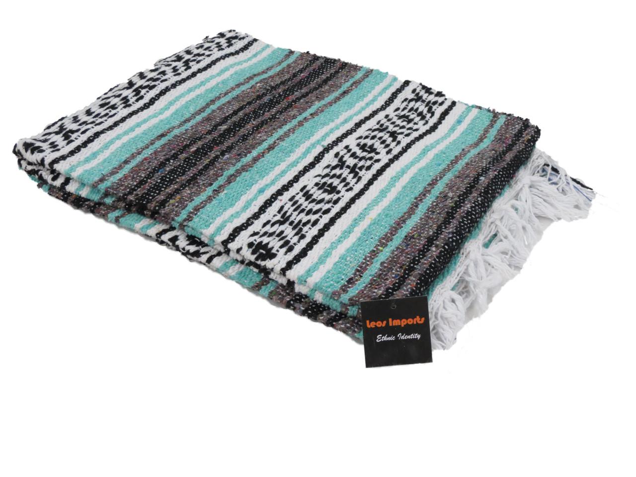 Handmade Classic Mexican Falsa Blankets 72