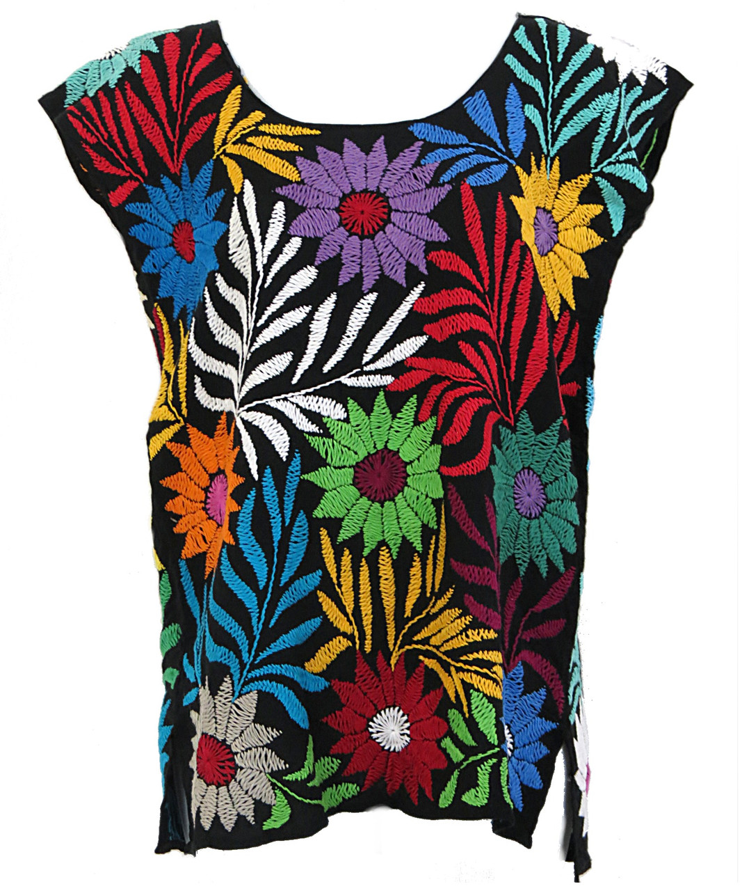 Oaxaca Mexican Embroidery San Antonio Blouse small medium