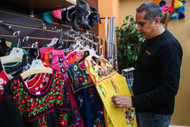 San Angelo's downtown store Leos Imports has modernized the traditional Mexican dress