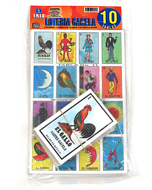 Mexican loteria game