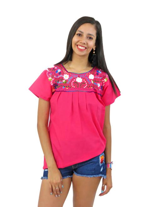 mexican blouse puebla