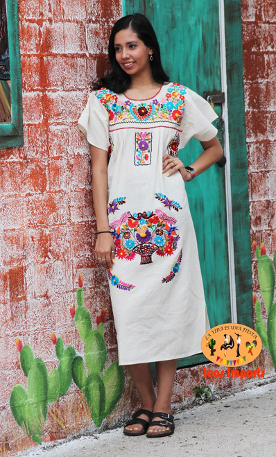 mexican dress cotton