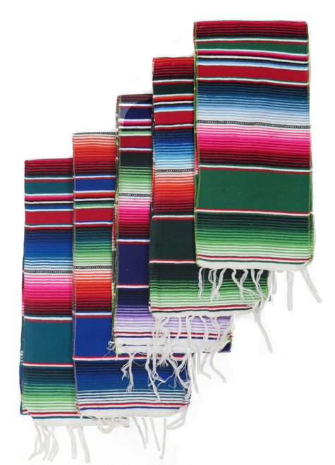 "5 pack Mexican 10"" runner"