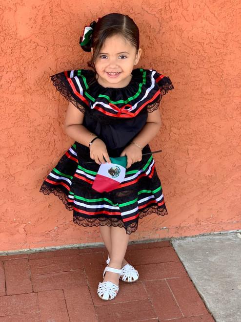 mexican black dress
