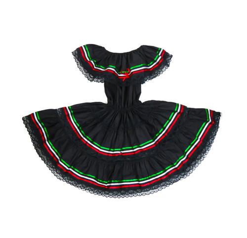 Mexican dress black