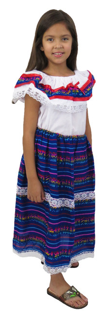 two piece mexican cambaya outfit