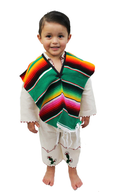 Mexican Poncho Sarape Child/Teen