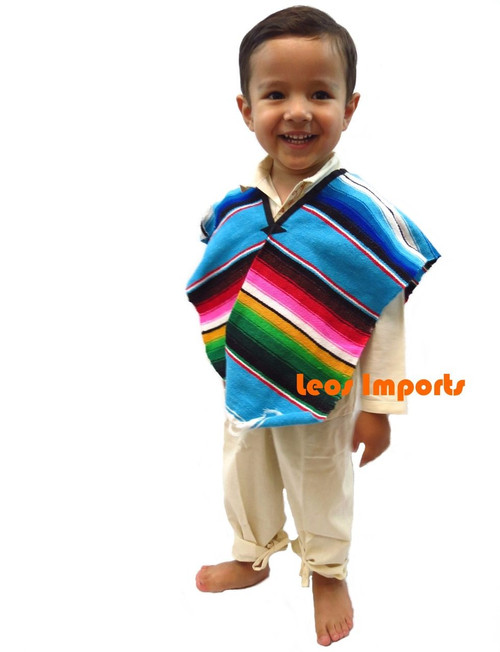 Mexican Poncho Sarape Child/Teen