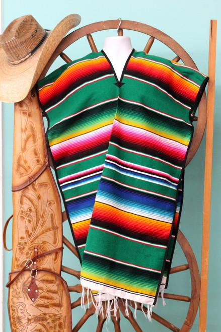 mexican poncho serape