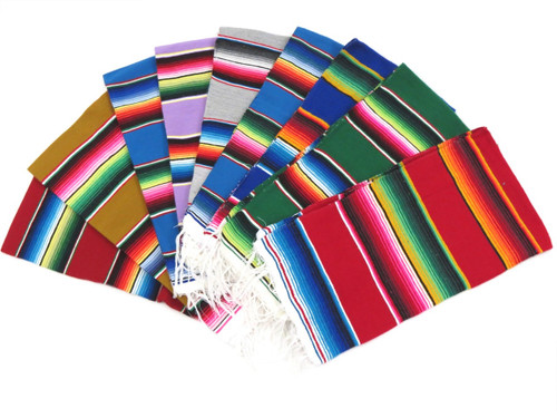 Small mexican sarape blanket