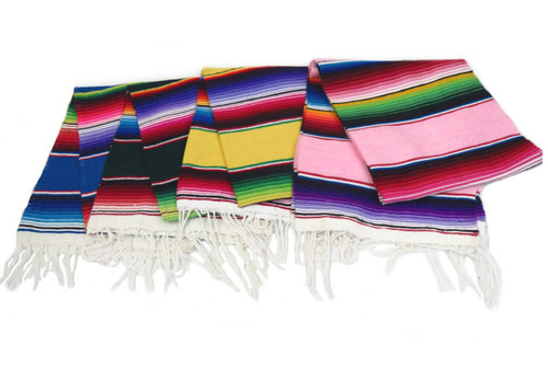"Medium size mexican sarape 60"" x 24"""