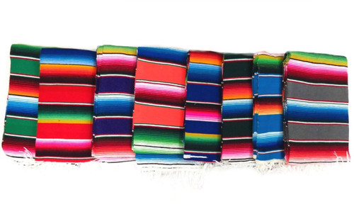 Mexican large sarape blanket