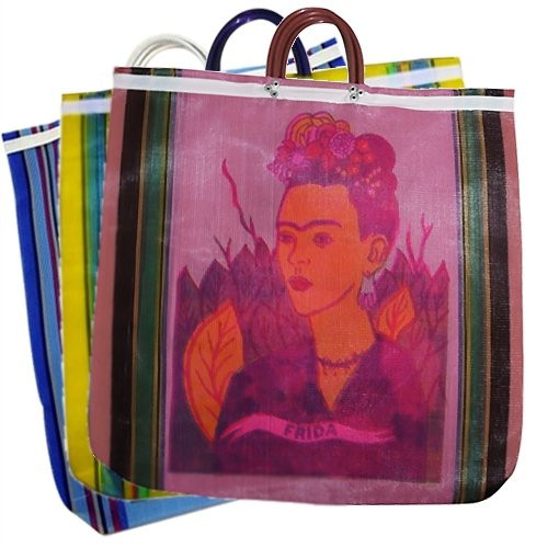 mexican mercado tote bag