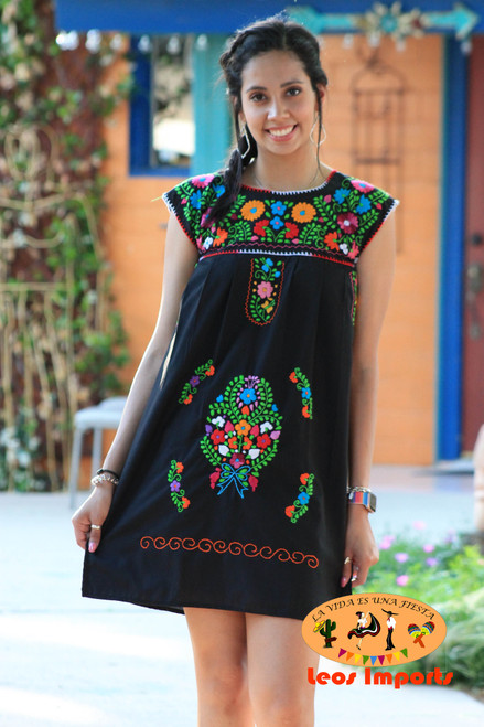 mexican mini dress