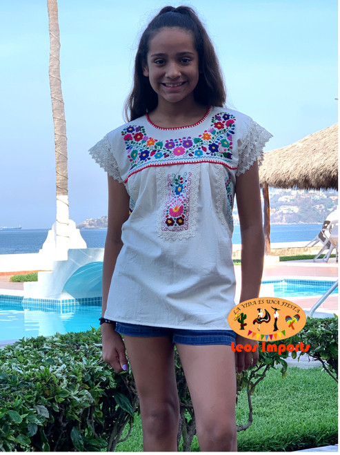 mexican blouse for girls