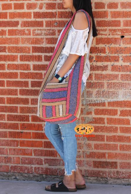 baja hoodie mexican bag