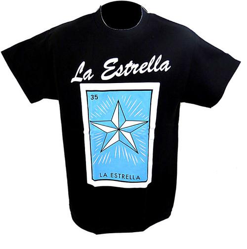 35 La Estrella Mexican Loteria T Shirt