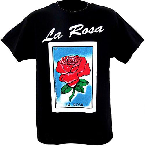 41 La Rosa Mexican Loteria T Shirt